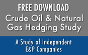 crude oil natural gas hedging report